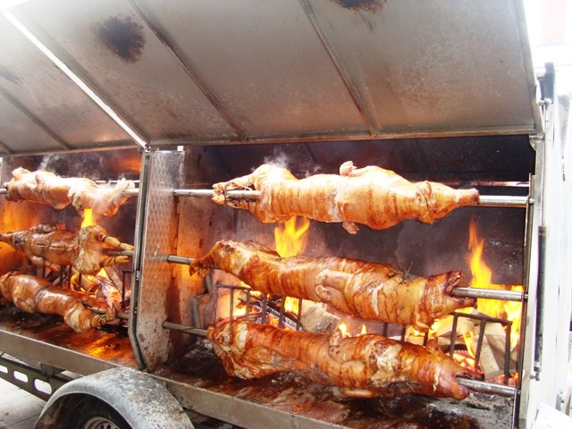 what about a grilled sucking pig??