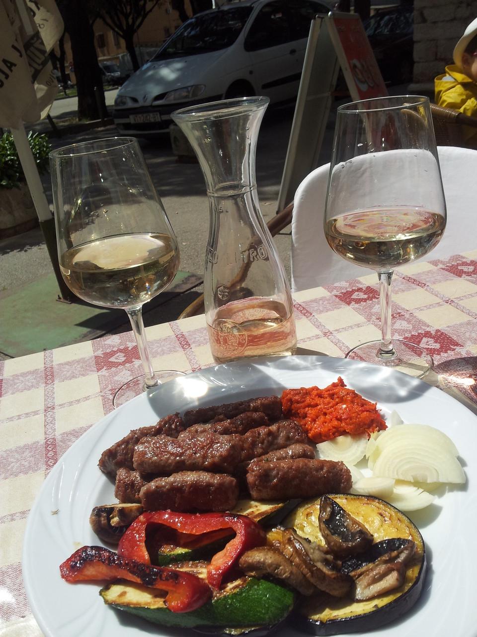 tipycally Istrian degustation....