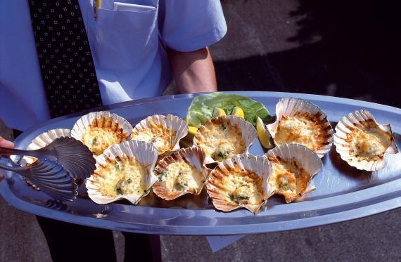 gratinated seashells...