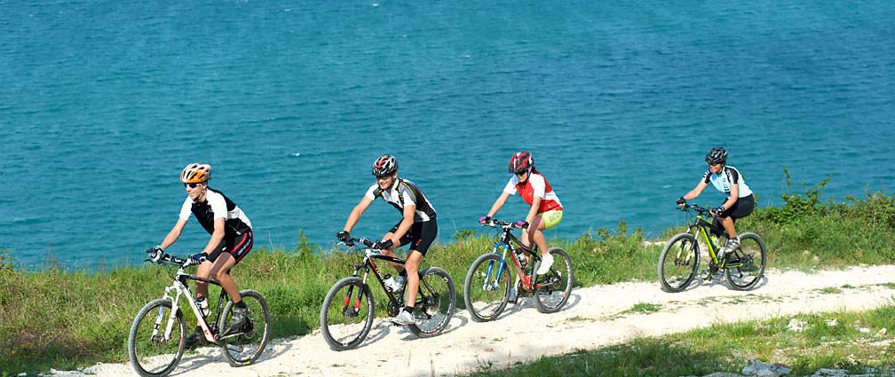 Biking in Istrian roads a real pleasure!