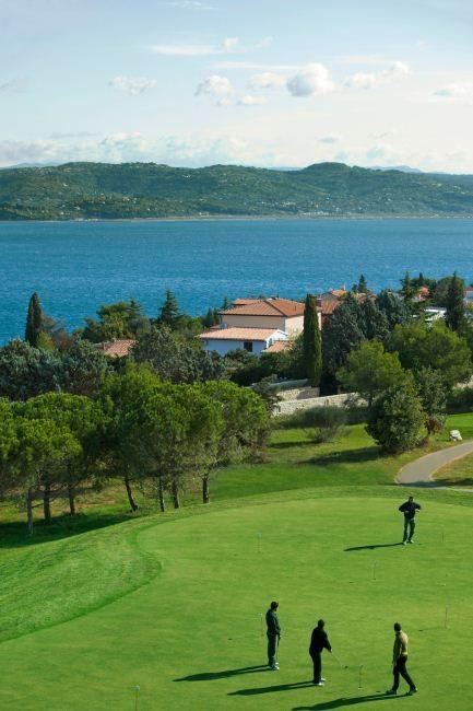 Essayez le golf aux Iles Brioni...