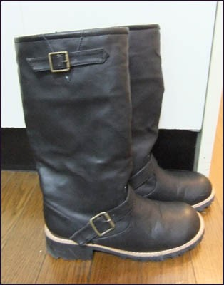 Les bottes (made in China) de Nakano Broadway