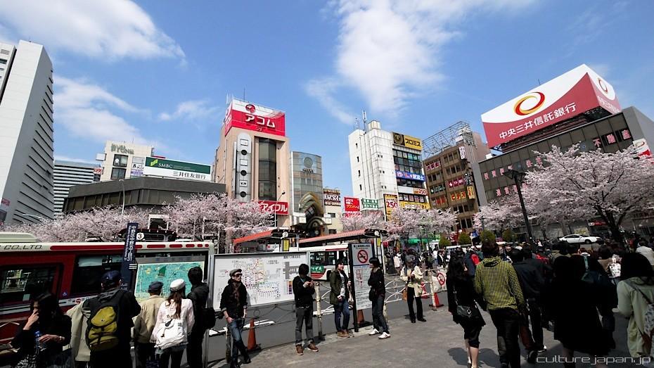 Depuis la gare de Nakano, sortie Nord - credit photo Danny Choo
