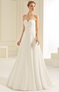 Hochzeitskleid Spitze Bianco Evento Brautmoden Per Sempre