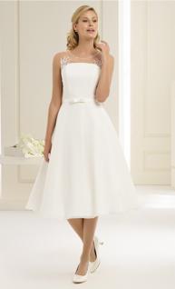 Brautkleid kurz Bianco Evento Brautmoden Per Sempre