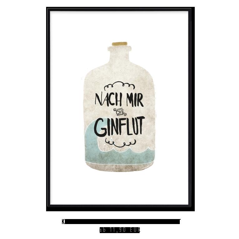 """Kunstdruck """"nach mir die Ginflut"""" kaufen"""