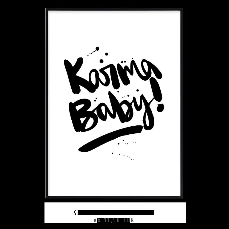 "Kunstdruck ""Karma Baby"" kaufen"