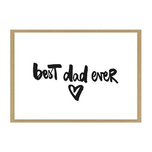 """Grußkarte """"best dad ever"""" kaufen"""