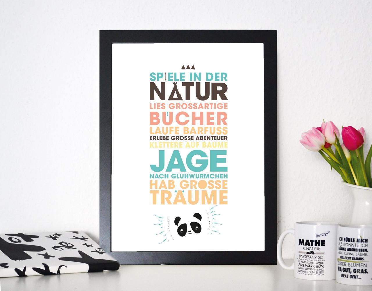 Kunstdruck Kinderzimmer Kinderträume - Formart Zeit für Schönes!