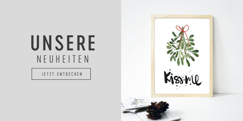Kunstdruck Kiss Me von Formart - Zeit für Schönes!