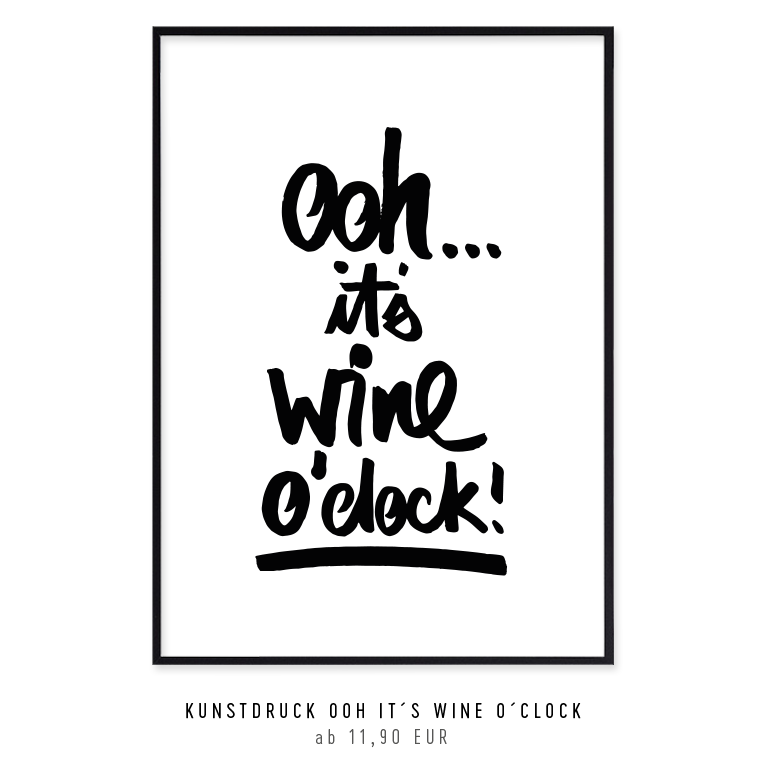 kunstdruck-its-wine-o-clock-