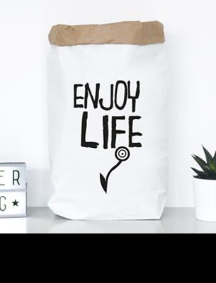 """Paperbag """"enjoy life"""" kaufen"""