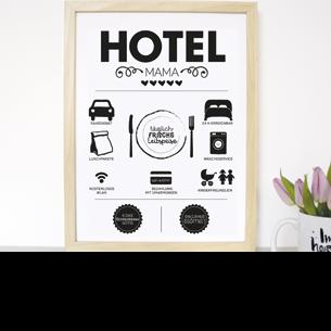 """Kunstdruck """"Hotel Mama"""""""