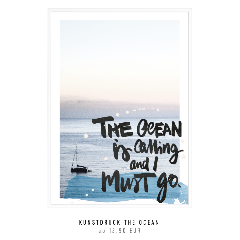 "Artprint ""ocean is calling"" kaufen"
