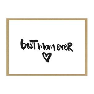 """Grußkarte """"best mom ever"""" kaufen"""