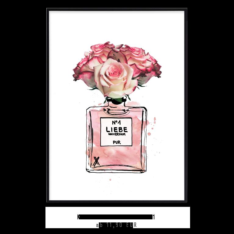 """Kunstdruck """"Liebe No. 1"""" - Mix and Match kaufen"""