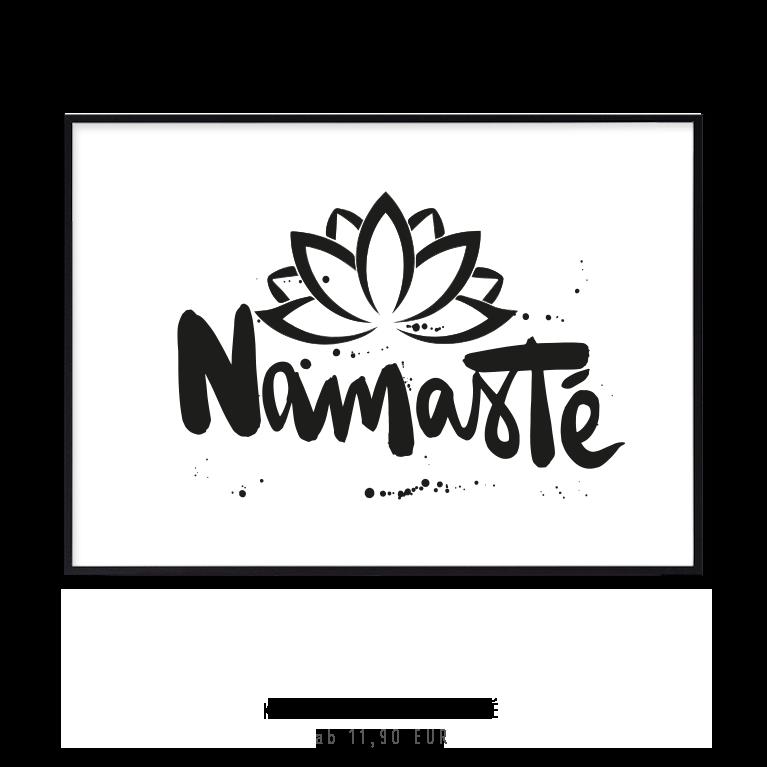 "Kunstdruck ""Namasté"" kaufen"