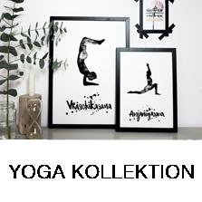 Yoga Asanas Prints kaufen