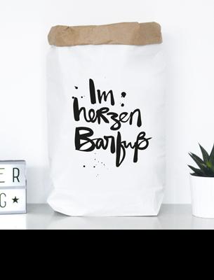 """Paperbag """"Im Herzen barfuss"""" kaufen"""