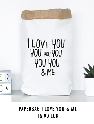 "Paperbag ""I love you and me"" kaufen"