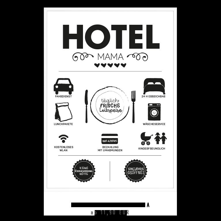 Kunstdruck Hotel Mama kaufen