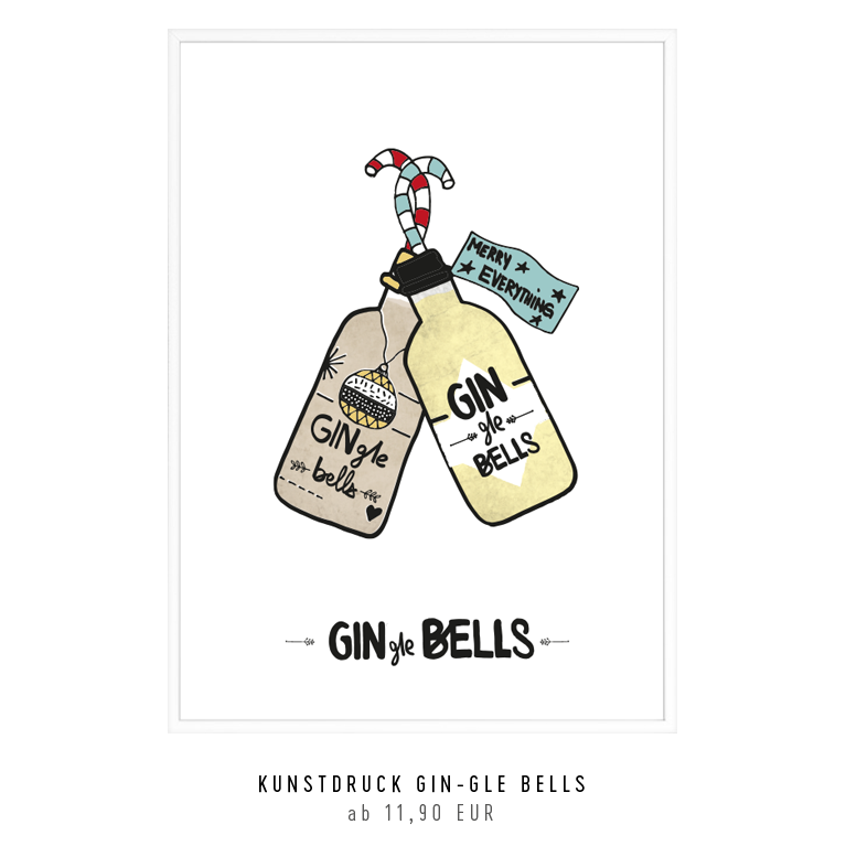 "Kunstdruck ""GINgle Bells"" kaufen"