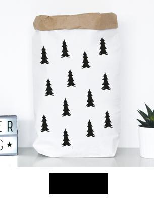 """Paperbag """"Weihnachtstannen"""" kaufen"""