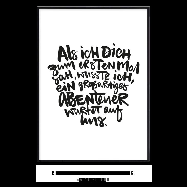 """Kunstdruck """"Unser Abenteuer"""" kaufen"""