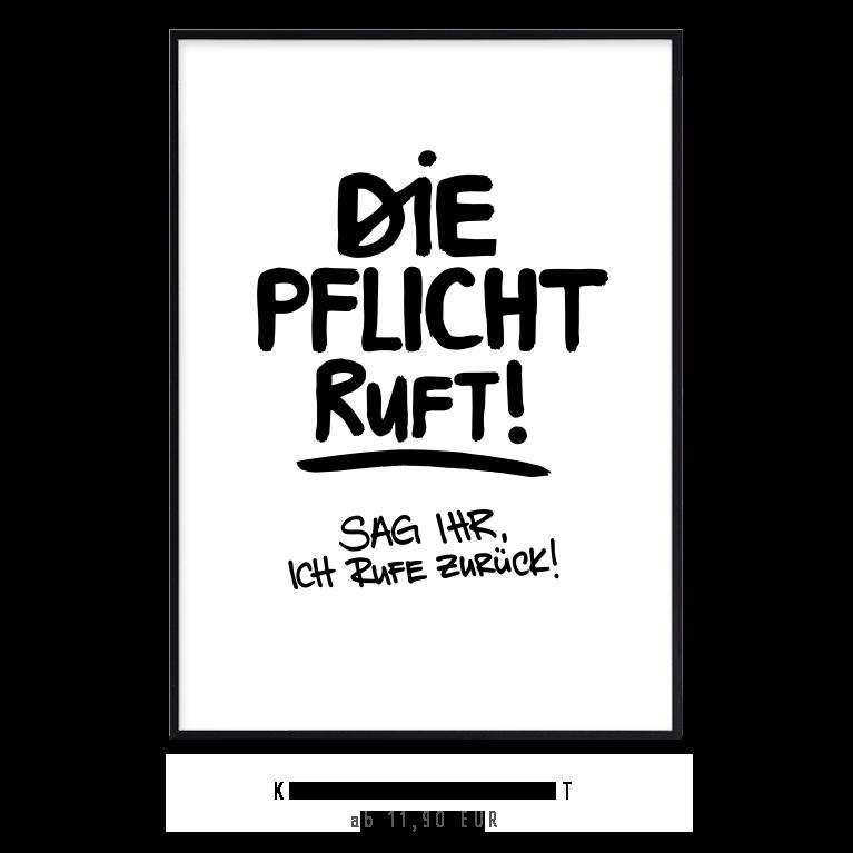 kunstdruck-die-pflicht-ruft-sag-ich-ruf-zurueck