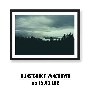 Artprint Stadtbild Vancouver kaufen