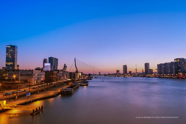 The Netherlands Rotterdam Cityscape