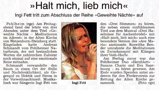 Gießener Allgemeine (27.12.2014), Roger Schmidt