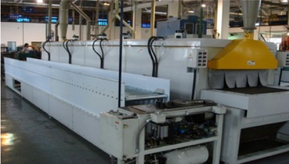 Shoe Production - Bonding Line