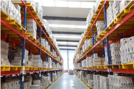 12.000 sqm Distribution Center, Dongying, China