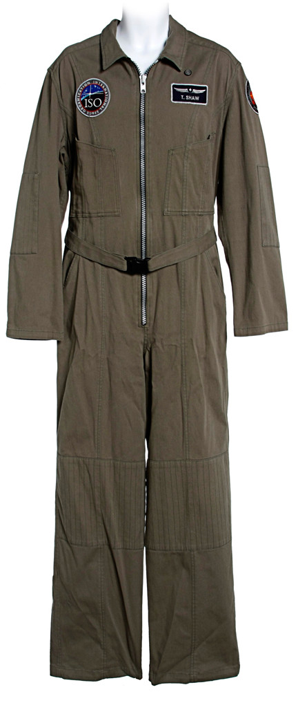 Ted Shaw Flight Suit with inside Gravity Suit