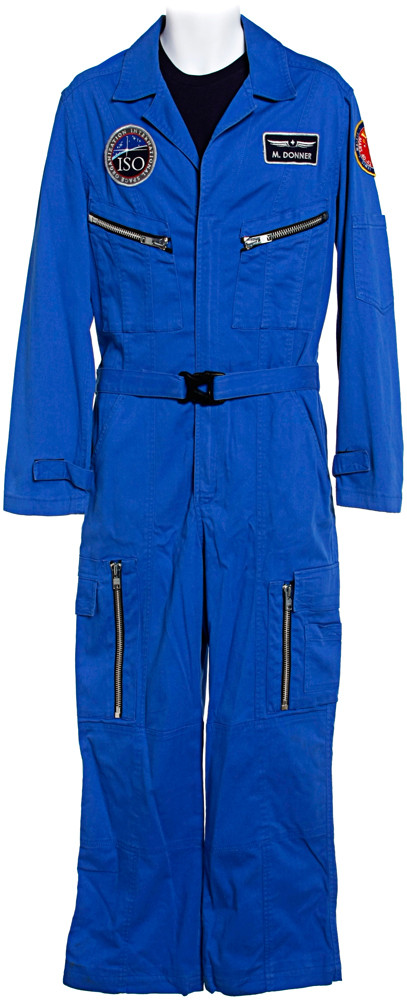Maddux Donner's Instructor Blue Flight Suit