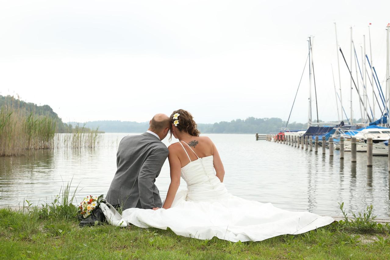 Brautpaar Chiemsee Sissi Weber Fotografie  www.weber-fotomobil.de