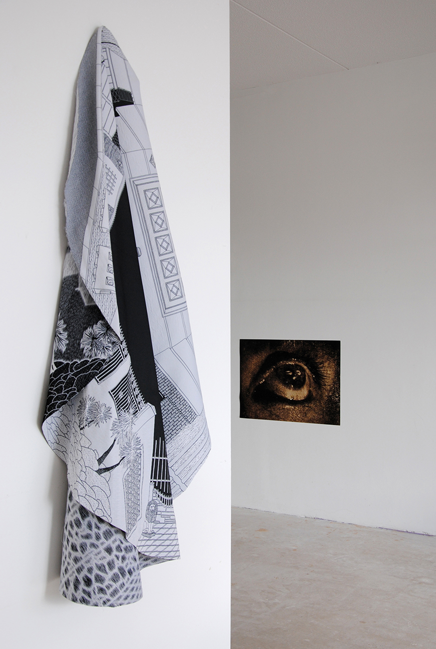Guy Königstein and Ronit Porat, Facing the Palace, installation view, 2019.