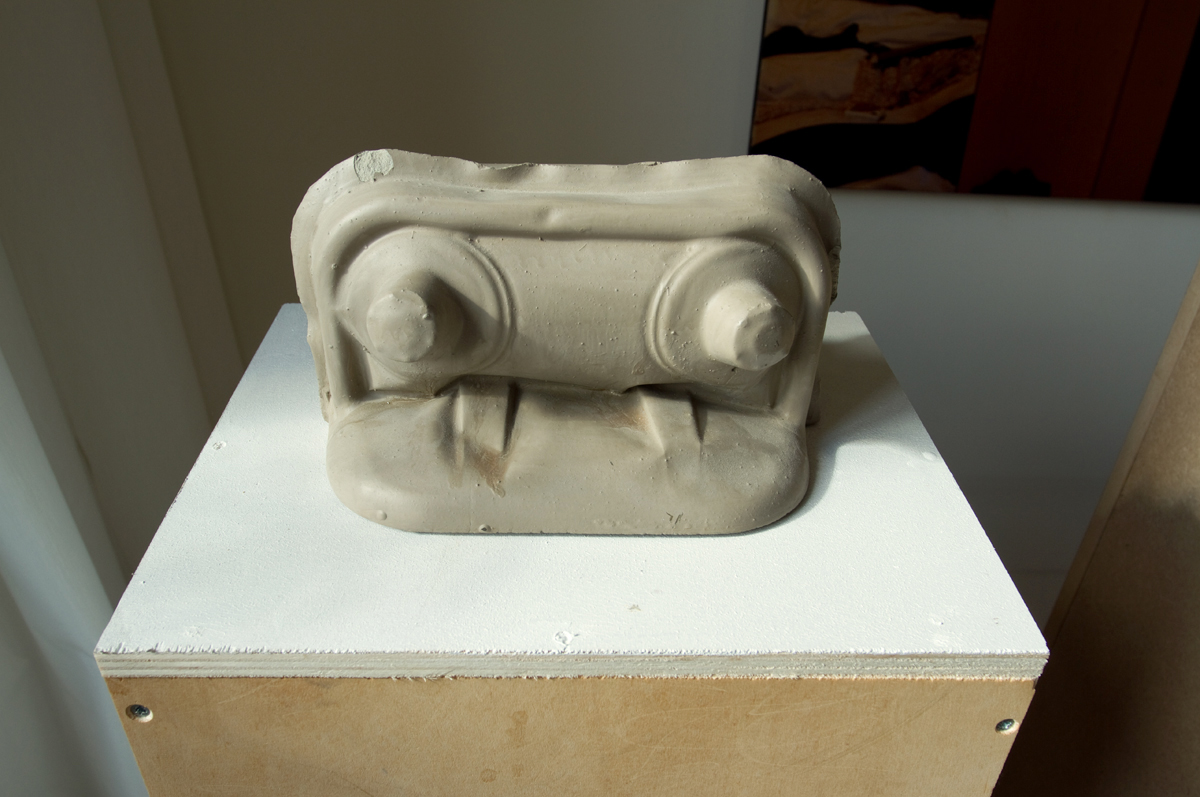 Leonid Tsvetkov, Untitled, concrete cast, 2018.