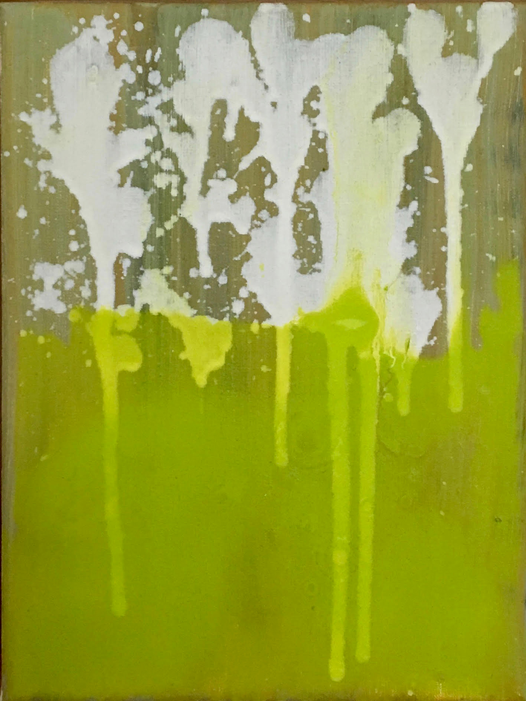 Rody Luton, Verdant 2, close-up (24 x 18 cm), 2018.