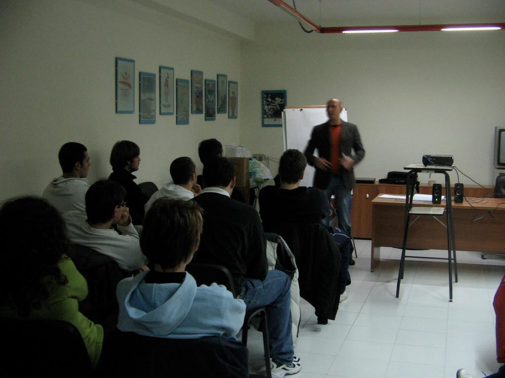 Corso di gestione pregara e gara 2009