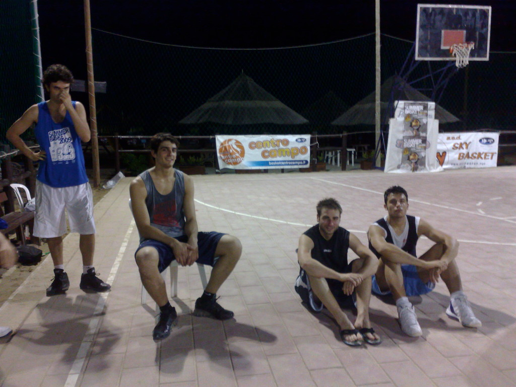 summer basket in collaborazione con sky e uisp 2009