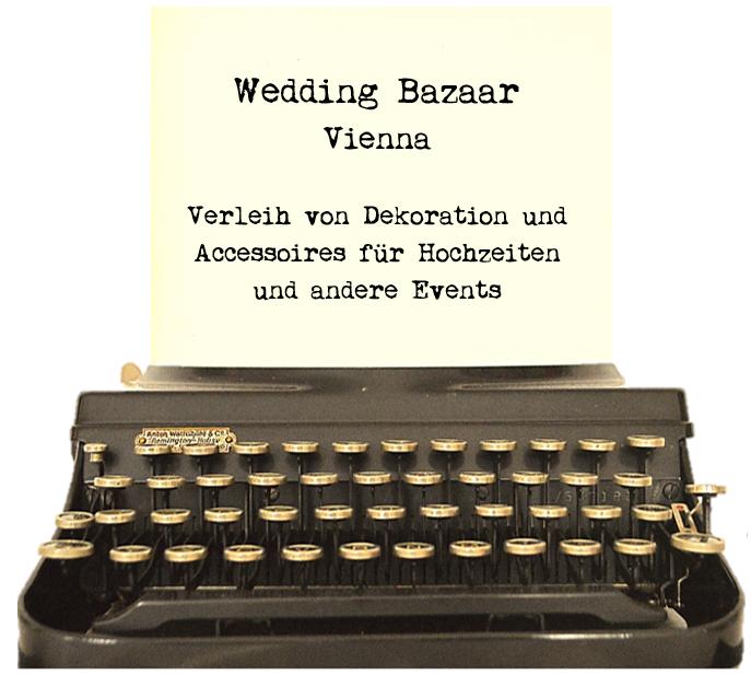 Vermietung von Dekoration für Hochzeiten in Wien