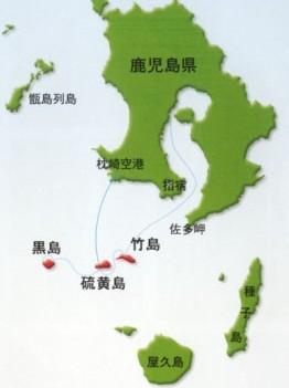 三島村の位置
