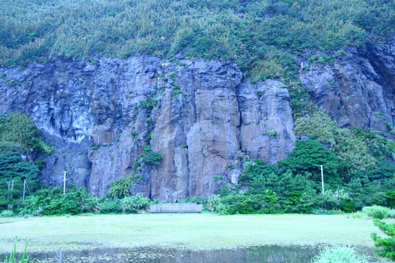 カルデラ外輪山