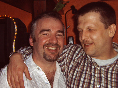 Frank mit Karsten