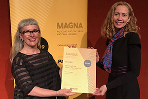 Creative Industries Manager Annette Turner and Program Leader Robyn Daw
