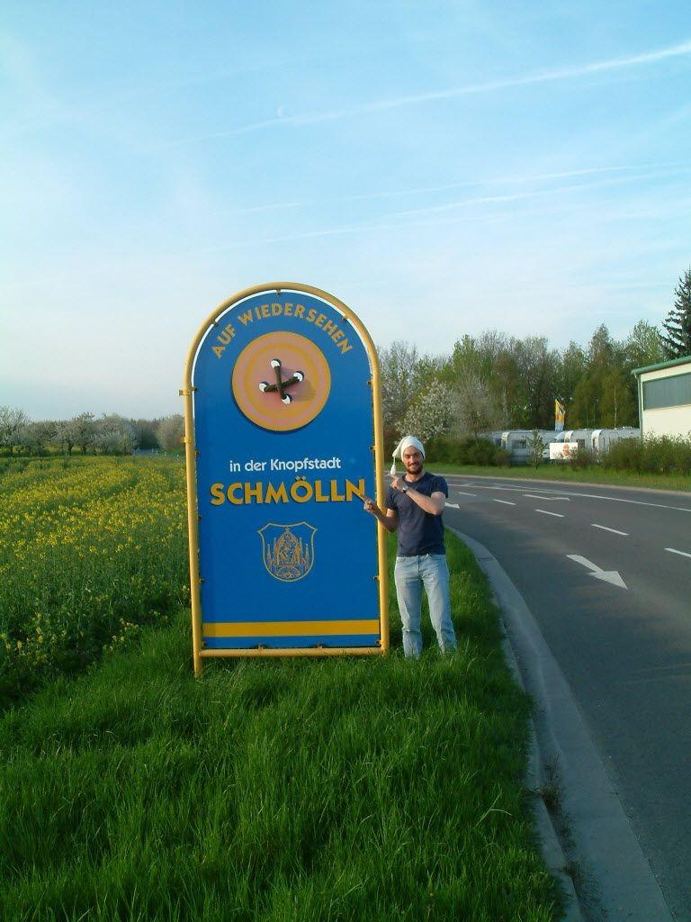 Schmölln, Deutschland. Thomas