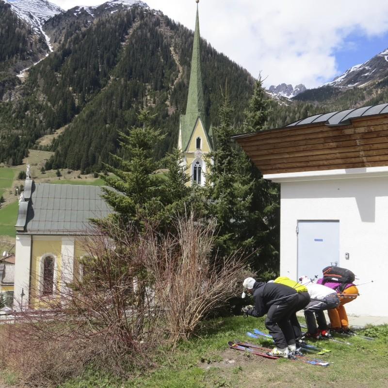 Ischgl, Paznauntal. Anna-Katharina, Melanie, Conny und Marc 2013