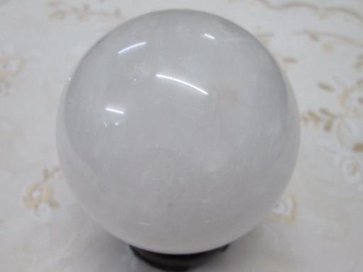 ☆ヒマラヤ水晶丸玉74mm ¥5,800
